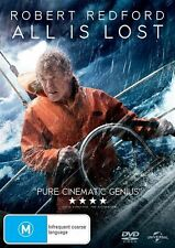 All Is Lost - Robert Redford - Brand New & Sealed (DVD, 2014)