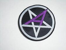 ANTHRAX THRASH METAL EMBROIDERED PATCH