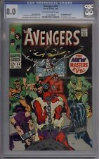 Avengers #54 - CGC Graded 8.0 - 1st Ultron Cameo