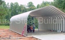 DuroSPAN Steel 30x46x14 Metal Building Pitched Roof Structures Open Ends DiRECT