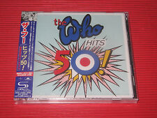 THE WHO HITS 50 ! 2CD DELUXE EDITION    JAPAN 2 SHM CD SET