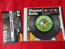 Shonen Knife - Favorites / JAPAN Japanese CD + OBI J-POP