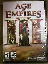 Age of Empires 3 set of 3 games &Age of Empire 2 book