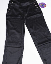 NWT NEW GYPSY JEANS PANTS OVERALLS ONE SHOULDER Costume Size Small S Black