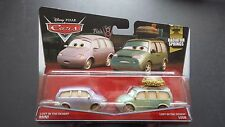 DISNEY PIXAR CARS LOST IN DESERT MINI AND VAN 2015 2 PACK SAVE 5% WORLDWIDE F
