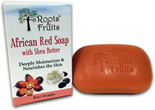 African Red Bar Soap, Roots & Fruits, 1 Bar