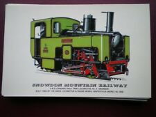 POSTCARD SNOWDON MOUNTAIN RLY RACK LOCO NO 4 'SNOWDON'