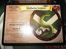 HARRY POTTER TCG GAME CARD CHAMBER OF SECRETS SLYTHERIN SERPENT 131/140 COM MINT