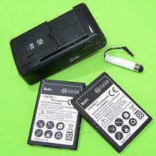 Extended Slim 2X battery+Charger For Cellular/Boost Mobile LG Optimus F7 US780