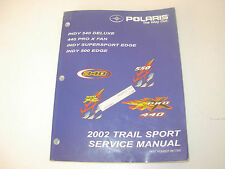 2002 Polaris Indy 340 ,440 PRO , Supersport & 500 Edge Snowmobile Service Manual