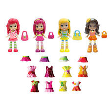 Strawberry Shortcake 3 Inch Berry Bitty Friends Fashion Doll Multipack - NIB