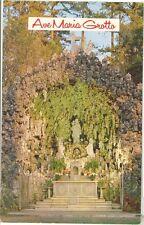 Vintage Alabama Chrome Postcard Ave Maria Grotto Cullman Main Grotto