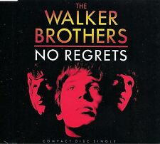 THE WALKER BROTHERS NO REGRETS + BOY CHILD + MONTAGUE TERRACE IN BLUE CD SINGLE