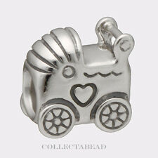Authentic Pandora Sterling Silver Baby Carriage Bead 790346