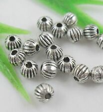 160pcs Tibetan Silver Round Ball Spacers Beads 4mm   (Lead-free)