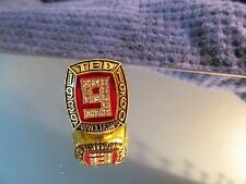 1939-1960 BOSTON RED SOX CHAMPIONSHIP RING (TED WILLIAMS) 521 HOMERUNS RARE