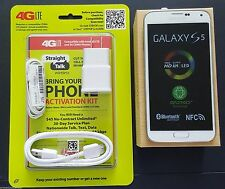 New Samsung Galaxy S5 SMG900V White Verizon Unlocked Verizon Straight Talk 4glte