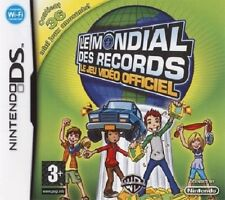 LE MONDIAL DES RECORDS  :  LE JEU VIDEO OFFICIEL        ////           pour DS
