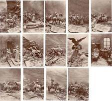 14 CARTE PHOTO LA VIE DE NAPOLEON ILL. MASTROIANNI - BATAILLES