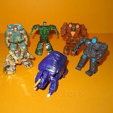 VINTAGE 1985 80s BANDAI ROCK LORDS GOBOTS GO BOTS TRANSFORMING ACTION FIGURE LOT