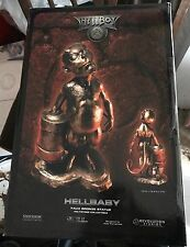 SIDESHOW HELLBOY HELLBABY FAUX BRONZE POLYSTONE STATUE Maquette 227/500
