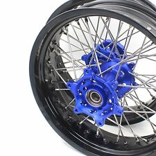 4.25*17 YAMAHA SUPERMOTO MOTARD WHEELS RIMS SETS WR250R 2008-2015 US01