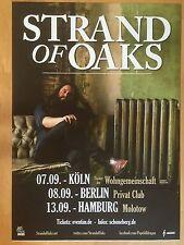 STRAND OF OAKS 2013 TOUR   ++  orig.Concert Poster - Konzert Plakat  NEU