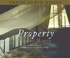 Property by Valerie Martin (3 CD-Audio, 2004)