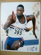 Original Press Photo- DAKO OWUSU, Great Britain~ 200 Metres, 10th August 1997