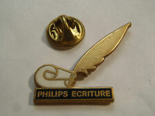 PIN'S PHILIPS ECRITURE