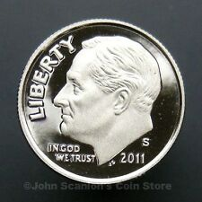2011-S Roosevelt Dime - Gem Proof Deep Cameo U.S. Coin