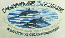 Dolphin Porpoise Division Swimming Championship Screen Print Sample Wall Craft