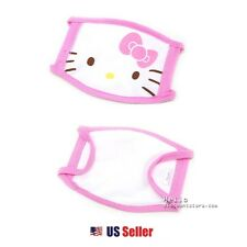 Sanrio Hello Kitty Kids Winter Cold Face Mask Surgical FLU Mask : Pink