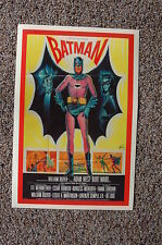 Batman 60s Lobby Card Movie Poster Adam West Burt Ward Burgess Meredith