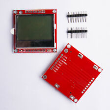 1Pcs 84x48 Blue Backlight LCD Module Adapter PCB 5110 LCD for Nokia Arduino