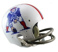 NEW ENGLAND PATRIOTS 65-81 TK THROWBACK FULL SIZE FOOTBALL HELMET