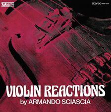 ARMANDO SCIASCIA Violin reactions LP Italian Library Music / Sonorizzazioni