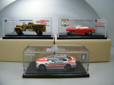 Matchbox 2016 Leipzig Messemodelle 20012,2013 & 2016 BMW Fire Engine & Karmann