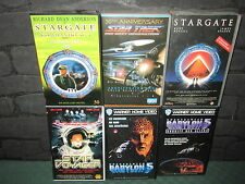 VHS-Sammlung: Fantasy, Science Fiction  - 6 VHS-Kassetten