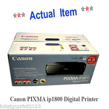 Canon PIXMA [ip1800] Digital Photo/Text Inkjet Printer, New In Box Never Used