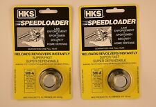 2 Pack HKS 586-A Speed Loader 38/357 Mag S&W Ruger New In Package 586-A 2 Pk