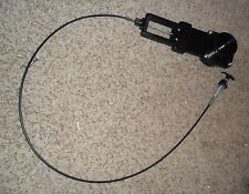 "*NEW* Valterra Black 3"" Bladex Cable Actuated Waste Valve RV Camper Sanitation"