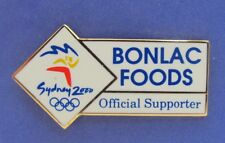 BONLAC FOODS CARD DARNUM PARK SYDNEY OLYMPIC GAMES 2000 PIN BADGE COLLECT #232
