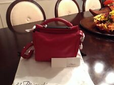 3.1 Phillip Lim Ryder Small Satchel Leather Cranberry