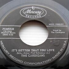 CARDIGANS It's better that you leave / Wacky wacky 1958 teen DOOWOP 45 m14