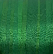 7mm Hand Dyed Silk Ribbon - Emerald Green - 3 meters