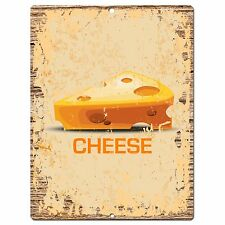 PP0849 CHEESE Parking Plate Chic Sign Home Kitchen Restaurant Cafe Decor Gift