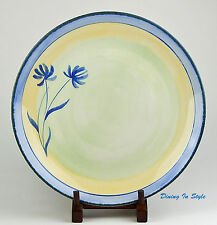 """11-3/8"""" Dinner Plate, SUPERB Condition! Tranquility, Pier 1 Imports, England"""