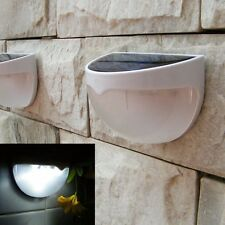Solar Powered Fence/ Outdoor Garden Waterproof Sensor Wall Light X 5 Joblot