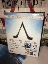 SEALED Assassins Creed Altair Limited Edition Artbook Guide Map Lithograph NEW